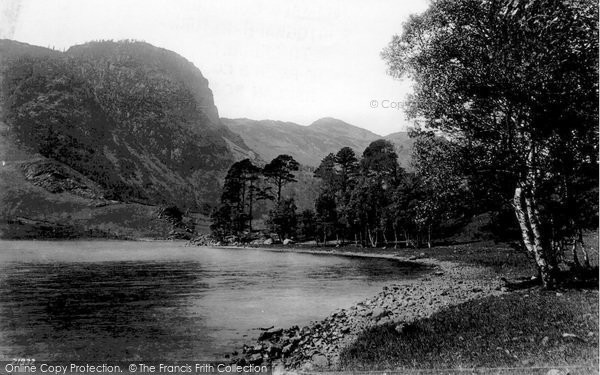 Photo of Thirlmere, Raven Crag 1889