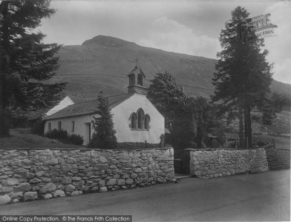 Photo of Thirlmere, Wythburn's Modest House Of Prayer 1929