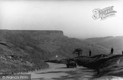 Thirsk, Climbing Sutton Bank c.1950