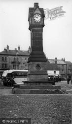 Thirsk, Clock Tower c.1955