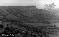 Thirsk, Hambleton Hills From Sutton Bank Top c.1950