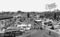 Thirsk, Market Day c.1955