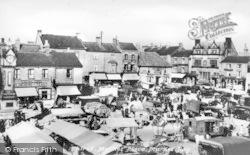Thirsk, Market Place c.1939