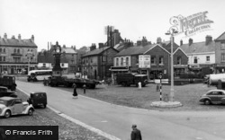 Thirsk, Market Place c.1955