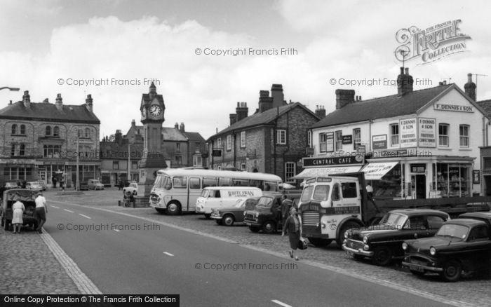 Photo of Thirsk, Market Place c.1965