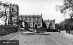 Thirsk, Parish Church Of St Mary c.1950