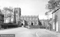 Thirsk, Parish Church Of St Mary c.1960