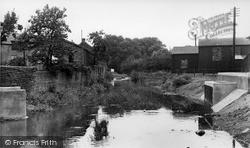 Thirsk, River Coldbeck c.1955