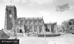 Thirsk, St Mary's Parish Church c.1960
