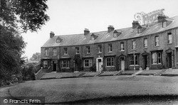 Thirsk, Terrace Houses Near River c.1955