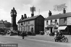 Thirsk, The Market Clock c.1950