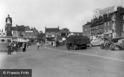 Thirsk, The Market Place c.1950