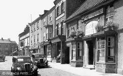 Thirsk, The Market Place East Side c.1950