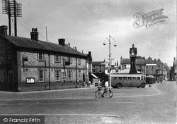 Thirsk, The Post Office And Clock Tower c.1950