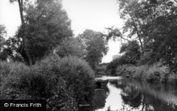 Thirsk, The River c.1955