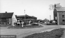 Thirsk, York Roundabout c.1955