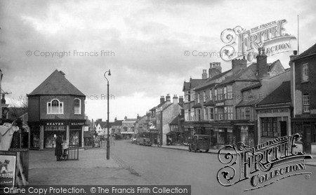 Thornbury, High Street 1949