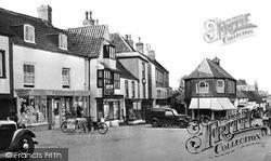 Thornbury, High Street c.1955