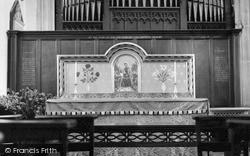 Thornbury, Memorial Chapel, The Parish Church c.1955