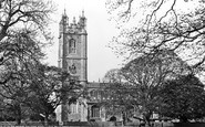 Thornbury, the Parish Church c1955