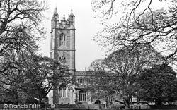 Thornbury, St Mary's Church c.1955