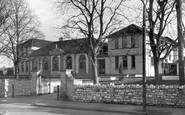 Thornbury, the Grammar School c1955