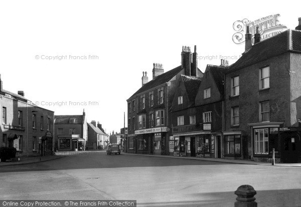 Thornbury, the Plain c1950