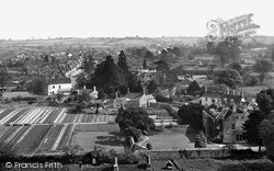 Thornbury, The Town From The Church Tower c.1955