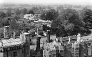 Thornbury, view from the Church Tower c1955
