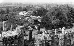 Thornbury, View From The Church Tower c.1955
