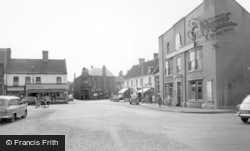Thorne, The Market Place c.1960