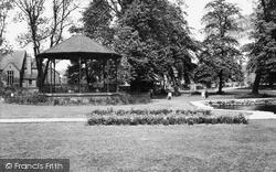 Thorne, The Memorial Park c.1960