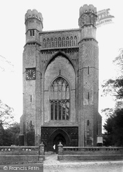 Thorney, The Abbey Church 1894