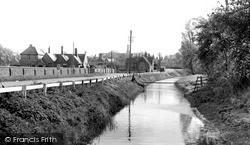 Thorney, The River c.1955