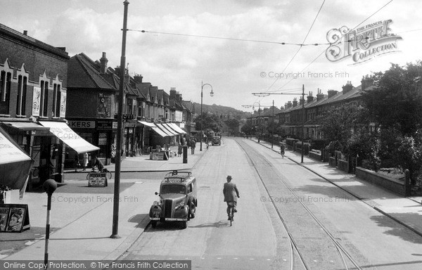 Thornton Heath, Brigstock Road c1945