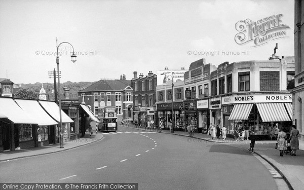 Thornton Heath, Brigstock Road c1960