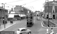 Thornton Heath, High Street c1950