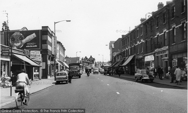 Photo of Thornton Heath, High Street c.1965