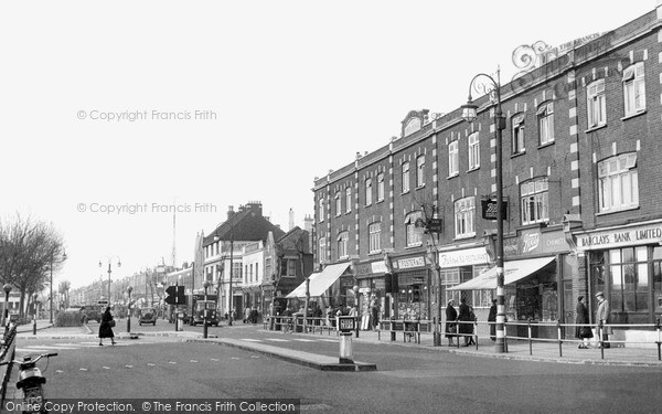 Thornton Heath, London Road c1958