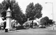 Thornton Heath, the Clock Tower c1965