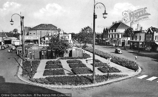 Thornton Heath, the Pond c1960