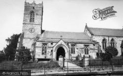 Thornton-Le-Dale, All Saints Church c.1955, Thornton Dale
