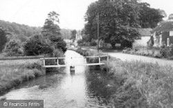 Thornton-Le-Dale, Beck Hall And Stream c.1955