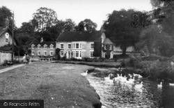 Thornton-Le-Dale, Beck Hall And Stream c.1965