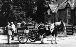 Thornton-Le-Dale, Horse And Cart 1964