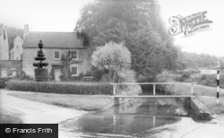 Thornton-Le-Dale, Mill House And Ford c.1955