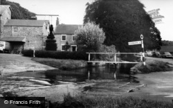 Thornton-Le-Dale, Mill House And Ford c.1965
