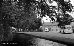 Thornton-Le-Dale, River And Street c.1950