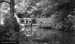 Thornton-Le-Dale, The Weir c.1955, Thornton Dale
