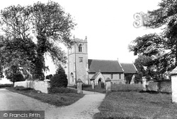 Thorp Arch, All Saints Church 1893
